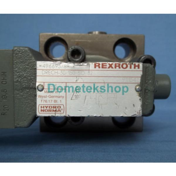 Hydronorma France Canada Rexroth DRECH-30/150 SO 82 *496695/8* Hydraulic Valve #3 image