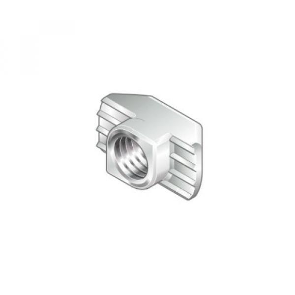 M6 Singapore India T Nut 10mm Slot Galvanized Steel | Genuine Bosch Rexroth | Choose Pack Size #1 image