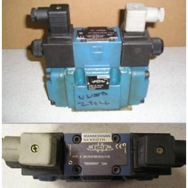 Bosch Singapore Canada Rexroth Hydraulics 4WE 6 J61/EW110N9Z4 4WEH 10 F44/6E Hydraulic Valve #1 image