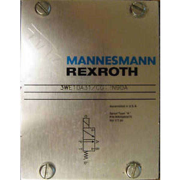 Mannesmann Japan USA Rexroth Hydraulic Valve 3WE10A31/CG12N9DA #1 image