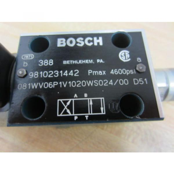 Rexroth Korea France Bosch Group 9810231442 Valve - Used #2 image