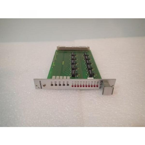 WARRANTY Russia France REXROTH RK1S 3X VT-RK1-30 3X ES43A8-0836 RELAY AMPLIFIER CARD #2 image