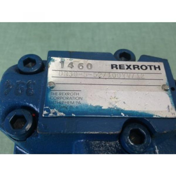 NEW India Canada OLD REXROTH DR30-5-52/100YV/12 HYDRAULIC VALVE #2 image
