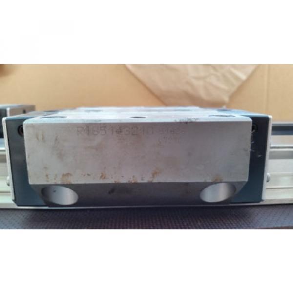 Bosch Rexroth korrosionsgeschützte Linearführung 2x 1520mm 4x Wagen R185143210 #5 image