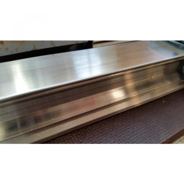 Bosch Rexroth korrosionsgeschützte Linearführung 2x 1520mm 4x Wagen R185143210 #6 image