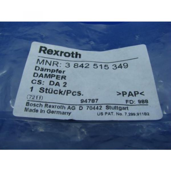 Bosch Italy Germany Rexroth DA2/10 Cushion Stop  3842515349 NEW #7 image