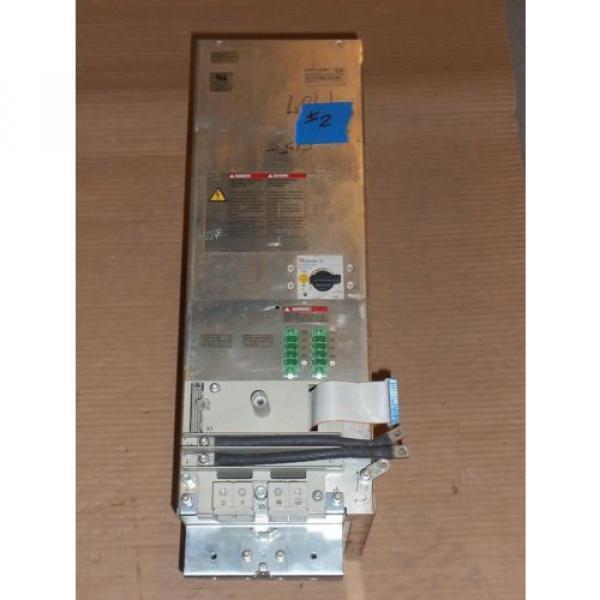REXROTH Mexico Dutch INDRAMAT HZF01.1-W025N POWER SUPPLY AC SERVO CONTROLLER DRIVE #2 #1 image