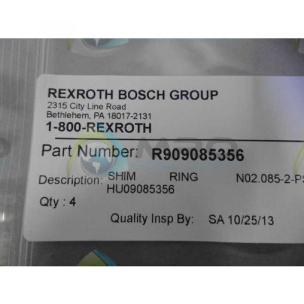 REXROTH India USA R909085356 RING *NEW IN ORIGINAL PACKAGE* #1 image