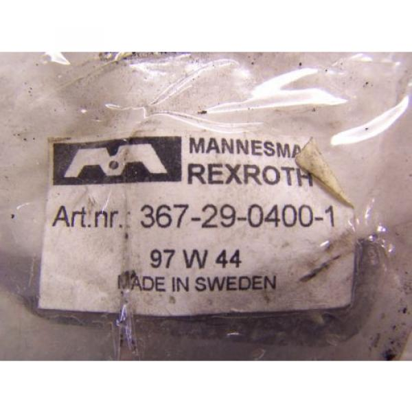 NEW Canada India MANNESMAN REXROTH PISTONROD ADAPTER TYPE 5 & 367-29-0400 MOUNTING & NUT KIT #4 image