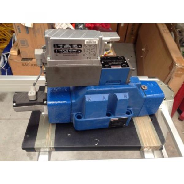 Rexroth China Korea valve 0811404437 model  4WRLE25X370M-3X/G24K0/A1M-812 #1 image