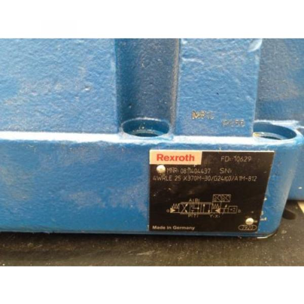 Rexroth China Korea valve 0811404437 model  4WRLE25X370M-3X/G24K0/A1M-812 #3 image