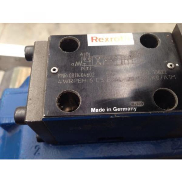 Rexroth China Korea valve 0811404437 model  4WRLE25X370M-3X/G24K0/A1M-812 #4 image