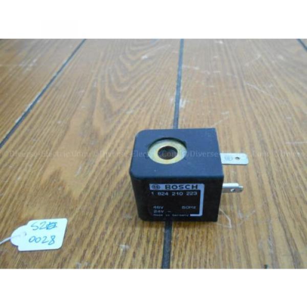 Bosch India Italy Rexroth 1 824 210 223 Coil, 48/24 V #1 image