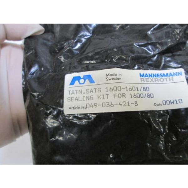 REXROTH France Mexico SEAL KIT 049-036-421-8 *NEW IN BAG* #2 image