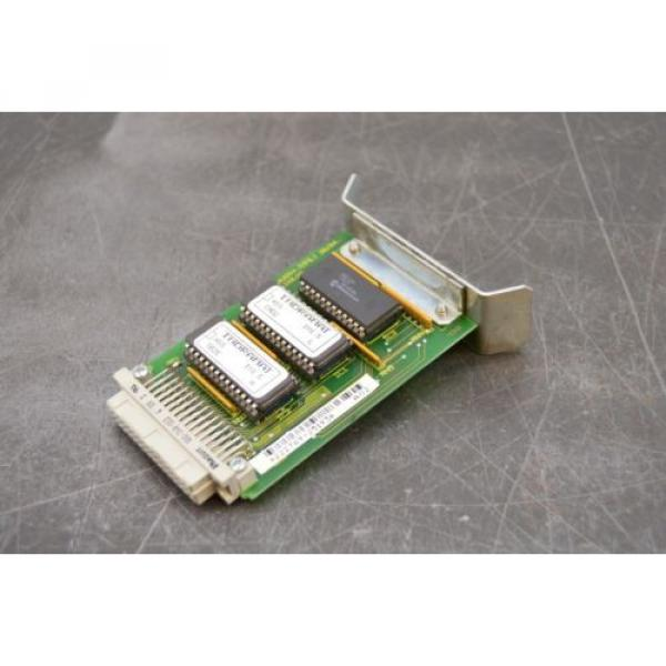Bosch Singapore India Rexroth Indramat 109-0657-4B02 Spindle Servo Drive Card Control Board #2 image