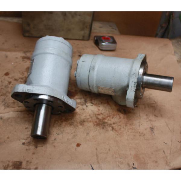 Rexroth Germany Dutch Hydraulik Nord GMP 125 610-H201 160 bar RN001 Hydraulic Motor #2 image