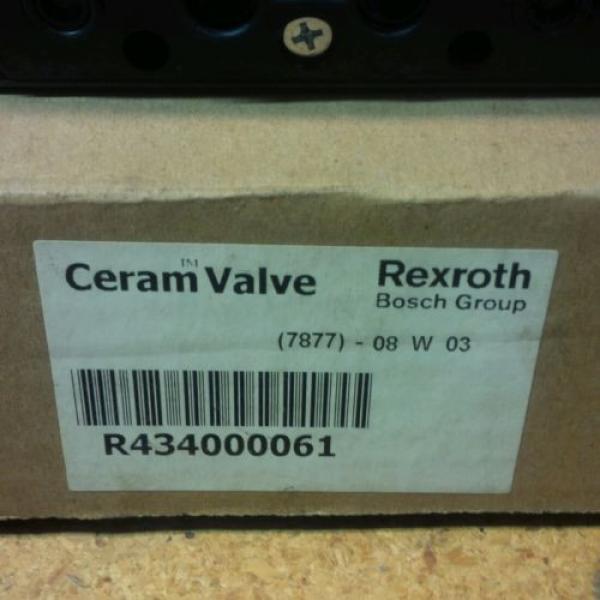 Rexroth Canada Canada ceram valves(set of 2)R434000061/GS02001204141 New #2 image