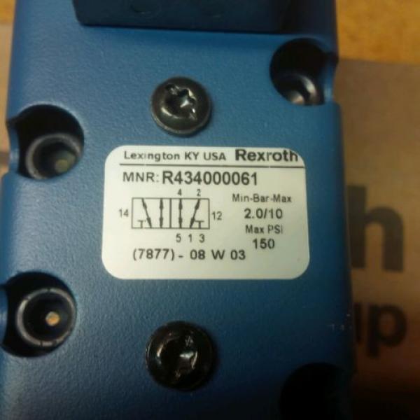Rexroth Canada Canada ceram valves(set of 2)R434000061/GS02001204141 New #7 image