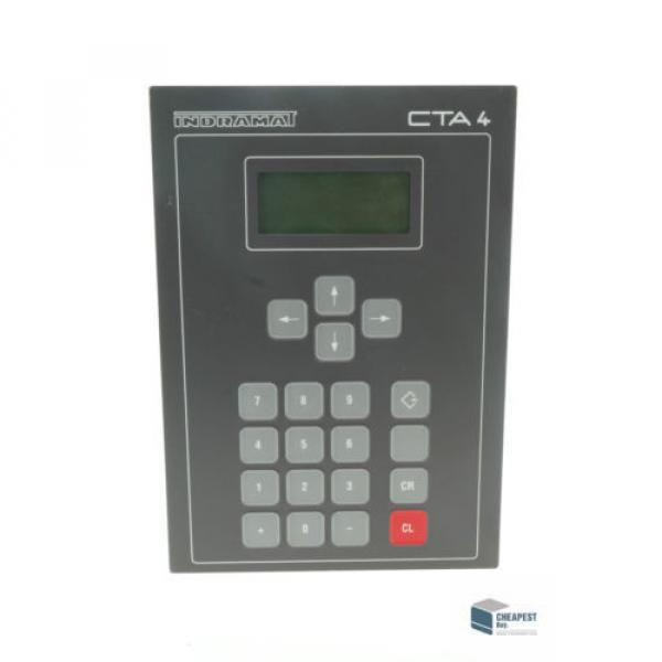 Rexroth China Canada Indramat CTA04.1B Bedienfeld Bedienteil Control Panel Operator Panel #2 image