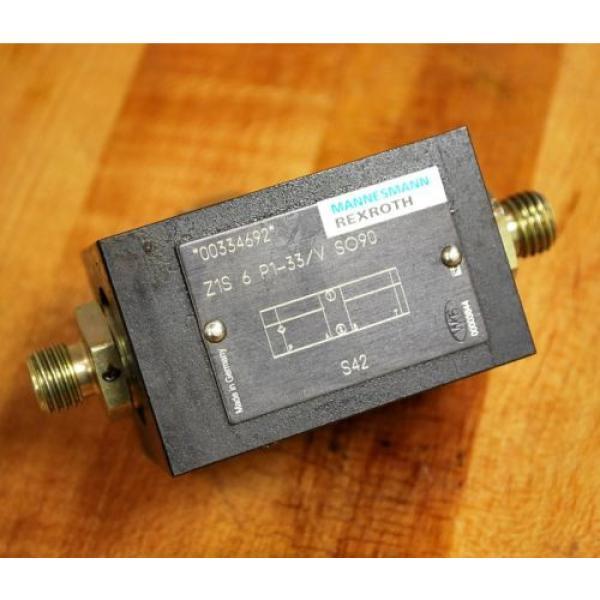 Rexroth Greece Singapore Z1S6P1-33/VSO90 Hydraulic Check Valve - Z1S6P133/VSO90 #1 image