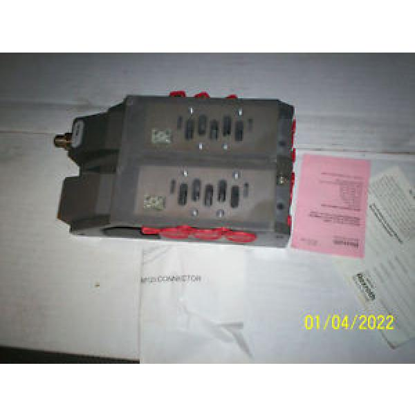 REXROTH Russia Germany 262-220-400-0K0 PNEUMATIC VALVE MANIFOLD 261-2 #1 image