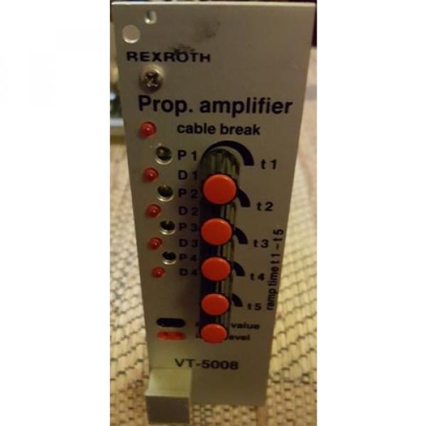 REXROTH Australia Japan PROP. AMPLIFIER CONTROL CARD VT5008S12 R1 #1 image