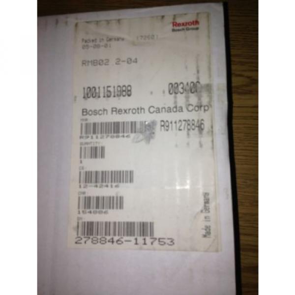 REXROTH Singapore china RMB02.2-04 BASE PLATE 1001151988, RMB02204, SHIPSAMEDAY  #1615B #7 image
