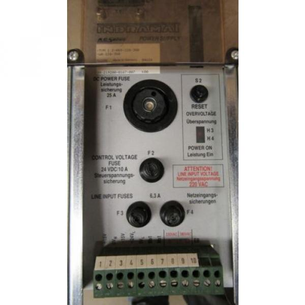 INDRAMAT Mexico Egypt REXROTH TVM 1.2-050-220/300-W0/220/380 AC SERVO POWER SUPPLY DRIVE #3 image