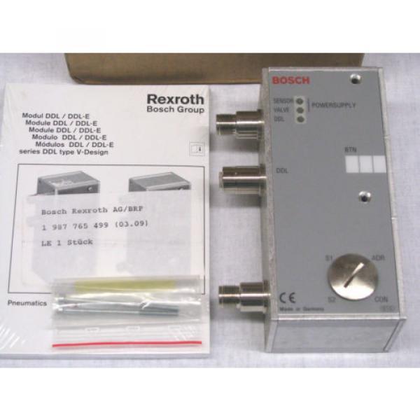 Bosch Korea Egypt Rexroth DDL Field Bus RMV-DDL-E Module 1827030190 BRAND NEW IN BOX NIB #1 image