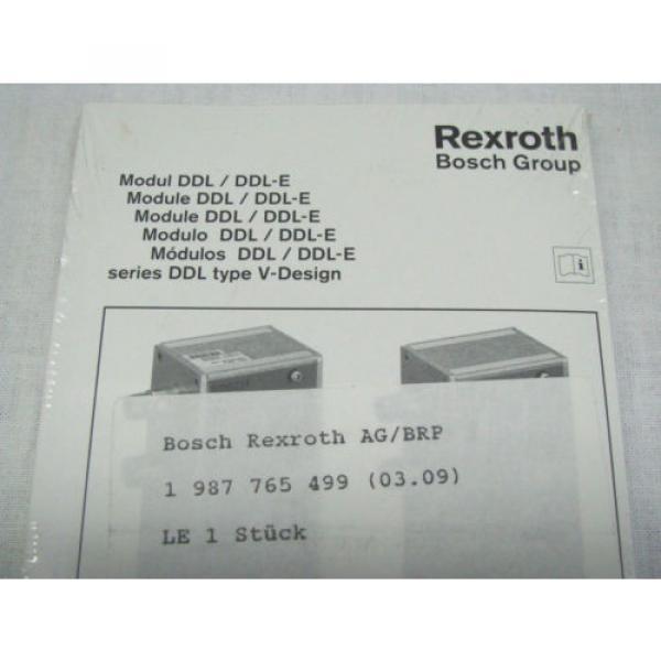Bosch Korea Egypt Rexroth DDL Field Bus RMV-DDL-E Module 1827030190 BRAND NEW IN BOX NIB #6 image