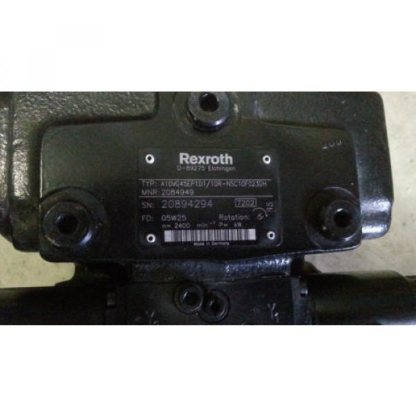 Hydraulikpumpe Greece Korea Rexroth A10VG45EP1D1/10R-NSC10F023DH Fahrpumpe Haulotte #4 image