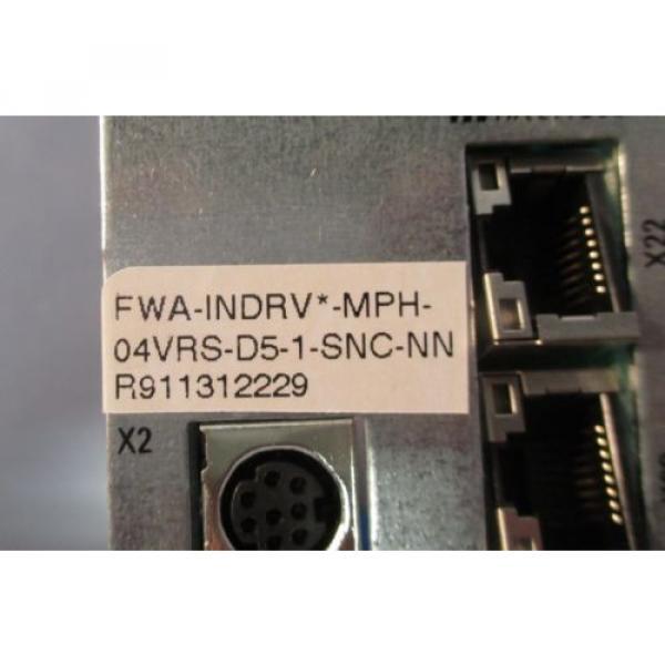 Rexroth France Canada R911314999 CSB01.1C-S3-ENS-NNN-L1-S-NN-FW Servo Controller Used #4 image
