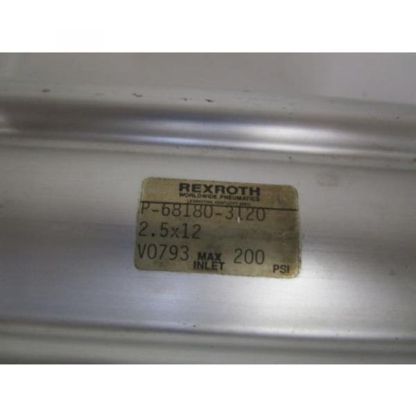REXROTH Mexico Mexico CYLINDER 2.5X12 P-68180-3120 *USED* #2 image