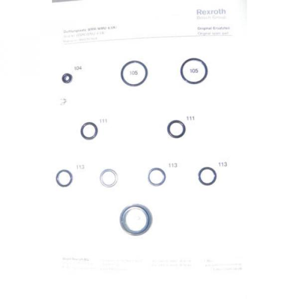 NEW Russia Greece Rexroth Bosch Seal Kit R900357604 #1 image