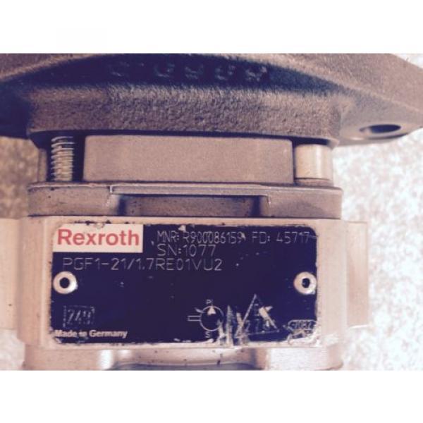 Rexroth France France PGF1-21/1.7RE01VU2 Hydraulikpumpe Hydraulikmotor MNR R90086159 #3 image