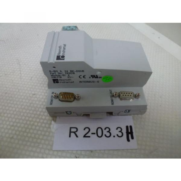 Rexroth Singapore Italy Indramat R-IBS IL 24 BK-DSUB unused boxed free delivery #1 image