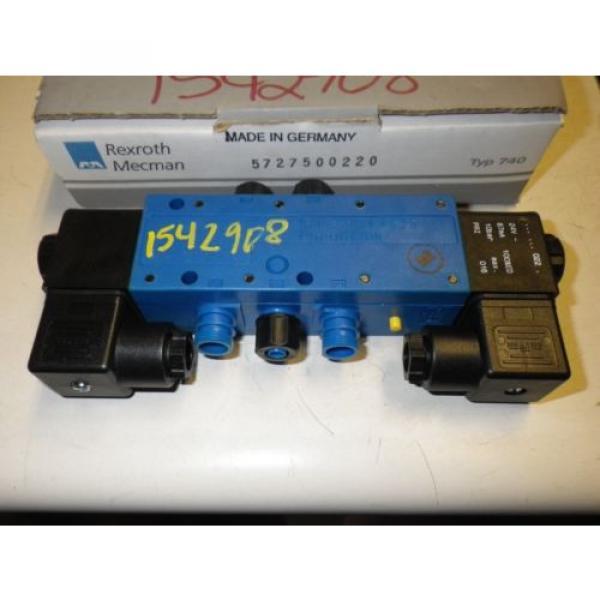Rexroth Australia France Mecman Typ 740 572 750 022 0 #2 image