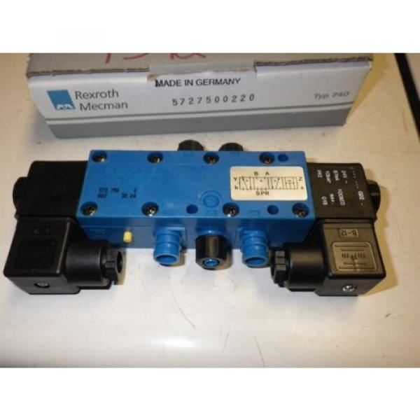 Rexroth Australia France Mecman Typ 740 572 750 022 0 #3 image