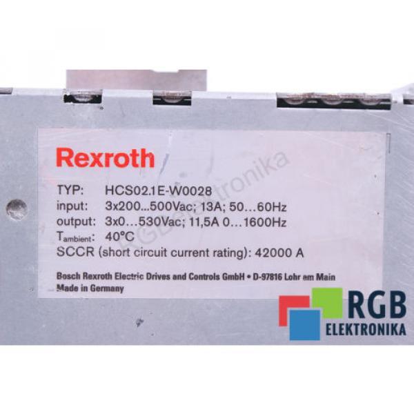HCS02.1E-W0028-A-03-NNNN Korea Australia CSB01.1C-PB-ENS-EN2-NN-S-NN-FW REXROTH ID36182 #6 image