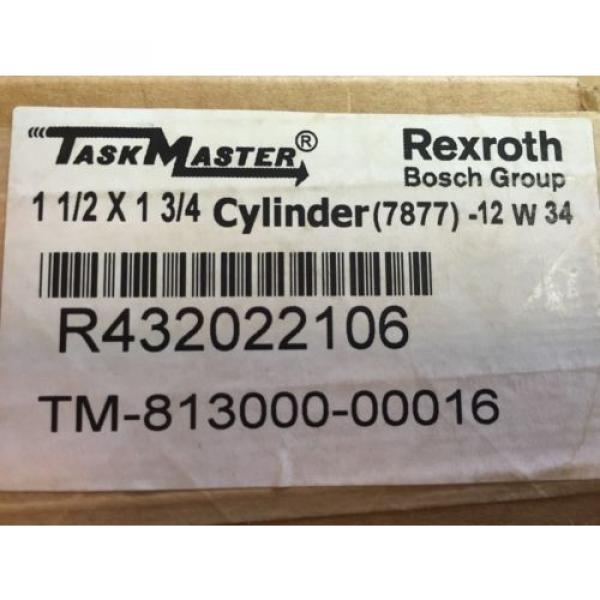 "Rexroth Australia Japan TM813000-0016 Taskmaster 1.5"" x 1.75"" #4 image"