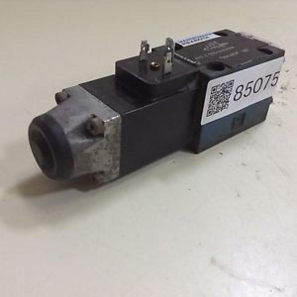 Mannesmann Italy India Rexroth Solenoid Valve 4WE6D53/AG24NK4 Used #85075 #1 image