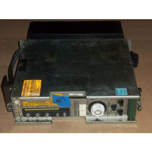 REXROTH India Canada INDRAMAT KDV1.3-100-115 POWER SUPPLY AC SERVO CONTROLLER DRIVE #1 image