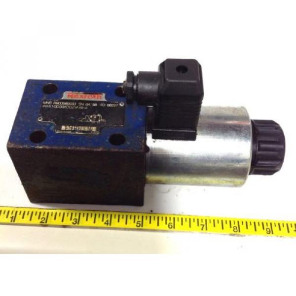 REXROTH Singapore Canada HYDRAULIC DIRECTIONAL VALVE R900589933 / 4WE10D33/CG24N9K4 99108 #1 image