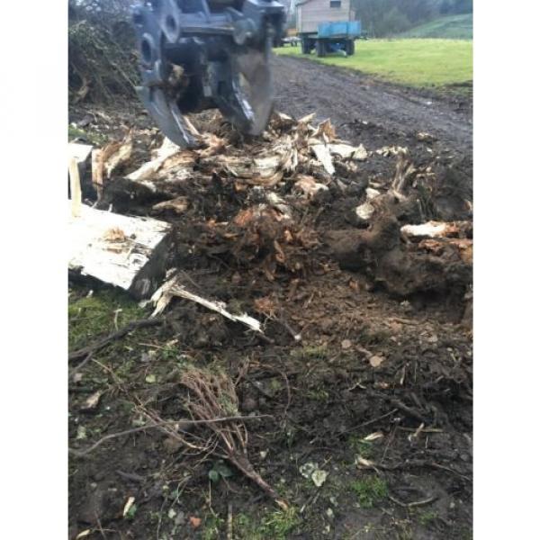 13 Ton Excavator Tree Stump Shear - Root Shear Root Harvester  CAT JCB KOMATSU #6 image