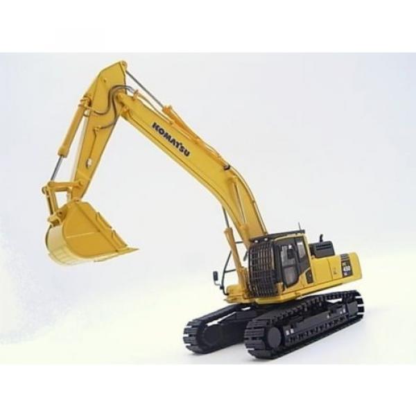 New! Komatsu excavators PC450LC crushed stone specification 1/50 diecast Japan #1 image