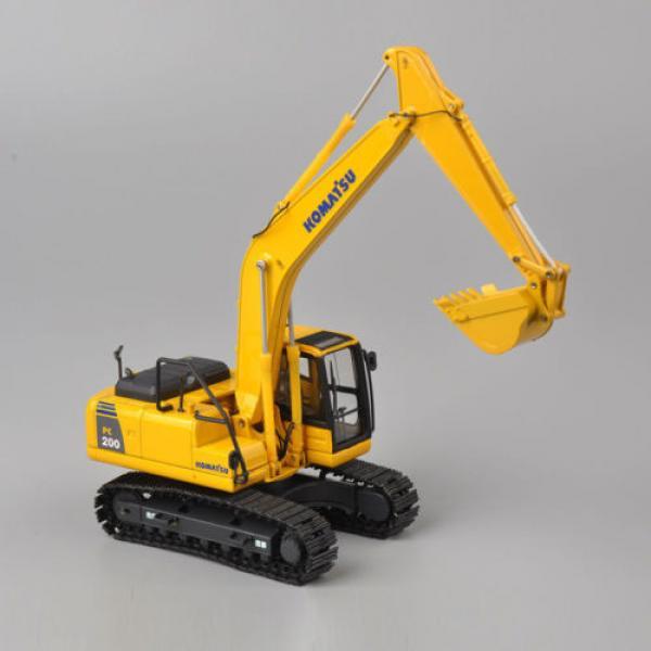 1/50 Scale DieCast Metal Model - Komatsu PC200 Excavator #1 image