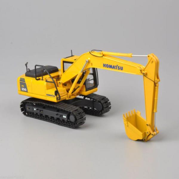 1/50 Scale DieCast Metal Model - Komatsu PC200 Excavator #3 image