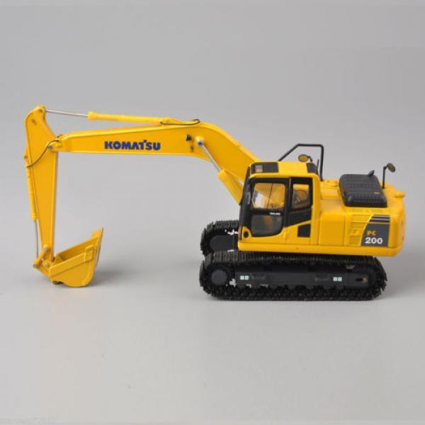 1/50 Scale DieCast Metal Model - Komatsu PC200 Excavator #6 image