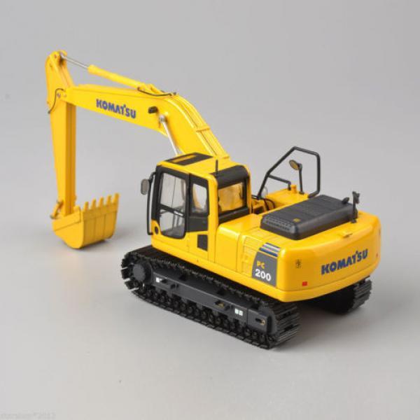 1/50 Scale DieCast Metal Model - Komatsu PC200 Excavator #8 image