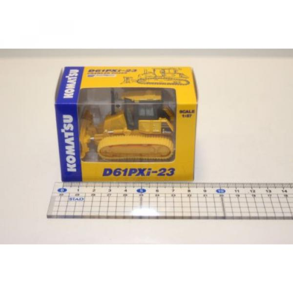 KOMATSU 1:87 WA380-8 WHEEL LOADER  PC210LCi-10 EXCAVATOR D61PXi-23 JAPAN Limited #6 image
